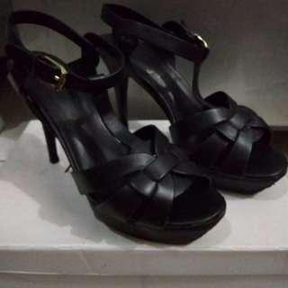 Ysl Leather Heels 10cm Mirror Quality