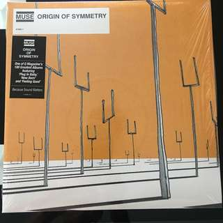 Muse - Origin Of Symmetry. Vinyl Lp. New