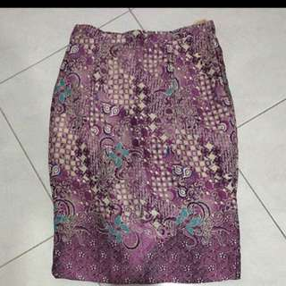 Icorisio Batik Pencil Skirt