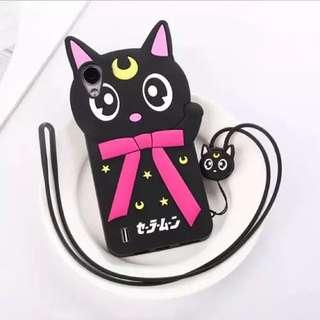 (READY STOCK) Vivo Y15 / Y13 Luna Cat Phone Casing