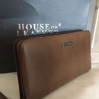 Kaufmann Clutch Bag Genuine Leather