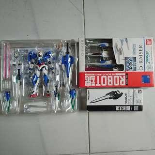 Robot Spirits 00 Gundam 7 Sword + 0-Raiser + GN Sword III