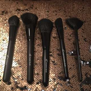 Set Of Elf Brushes With Carry Case