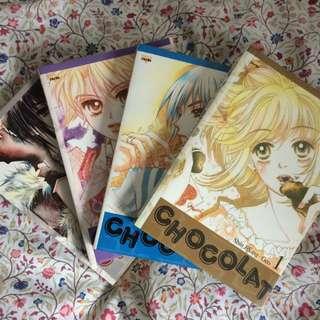 Chocolat (Vol.1-4) by Shin JiSang Geo