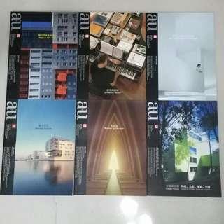 🚚 a+u 建築與都市雜誌(11~16集),中文版雜誌,1本350元