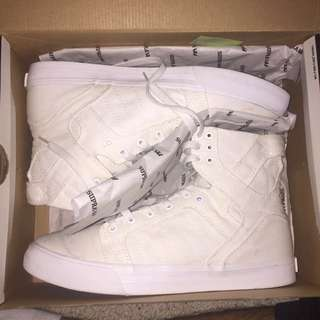SUPRA SKYTOP WHITE SHOES