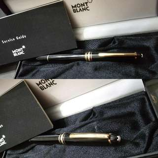 清貨減價任議Montblanc Meisterstuck Le Grand Gold Plated Rollerball Pen