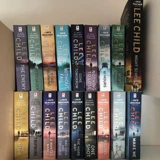 (almost) Complete Series Of LEE CHILD books)