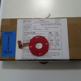 Ipod Classic Red Wheel Click(6th-gen)