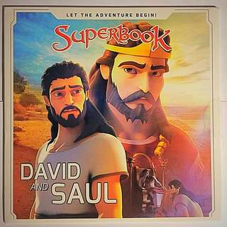Superbook Dvd - David & Saul