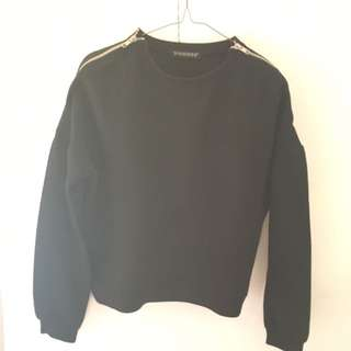 sixence black sweater