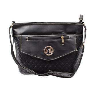 KL–719 Women Body Shoulder Bag (Black)