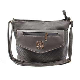 KL–719 Women Body Shoulder Bag (Gray)