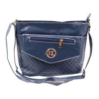 KL–719 Women Body Shoulder Bag (Navy Blue)