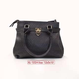 KL - 1024 Women Shoulder Bag (Black)