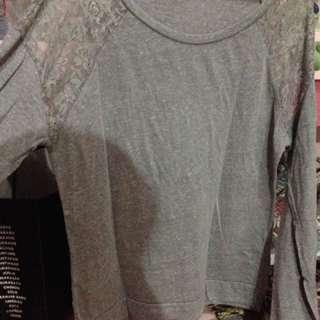[TALLY WEAR] Grey Tshirt