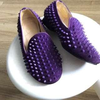 Sepatu Flat Stud Louboutine - Mirror 1:1
