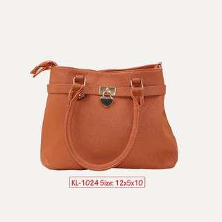 KL - 1024 Women Shoulder Bag (Brown)