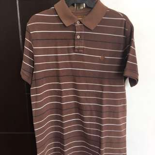 BEVERLY HILLS POLO CLUB Brown Polo Shirt