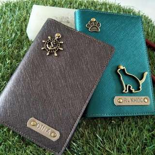 845bbc2c3b Personalized Customised Metallic Series Passport Color With a Charm (Normal  Postage Included)