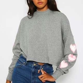 Looking to buy lazy oaf puffy hearts sweatshirt