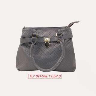 KL - 1024 Women Shoulder Bag (Gray)