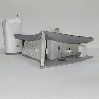 🚚 廊香教堂紙模型 Ronchamp