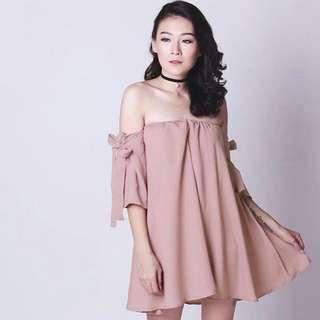 Pink Sabrina Dress