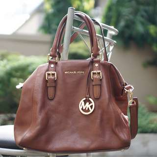 Michael Kors Brown Hand Bag / Shoulder Bag
