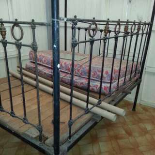 Antique High Bed