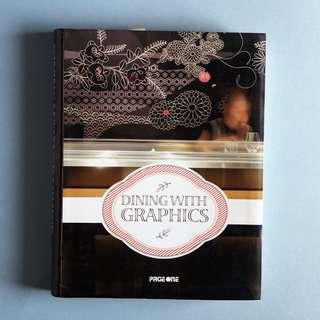 Dining With Graphic Book, Preloved Design Book, Restaurant Design Book