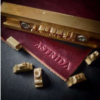 Complimentary Initial Stamping Service | Quality Handmade Leather Goods