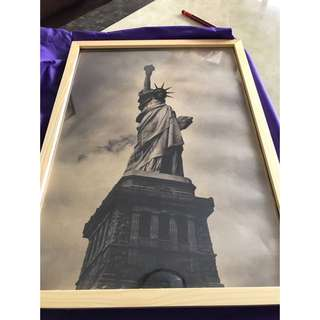 Statue Of Liberty Photo (Framed)