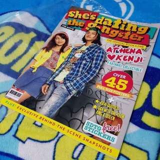 SHE'S DATING THE GANGSTER BY KATHIEL