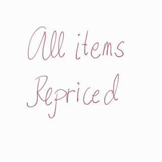 All Items Repriced...all Items Are In Excellent Condition!