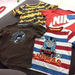 Bundle Of T-shirts For Boys (2 Years Old)