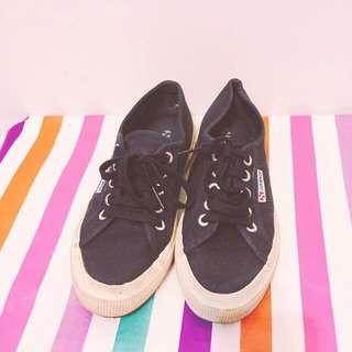Superga女休閒帆船鞋