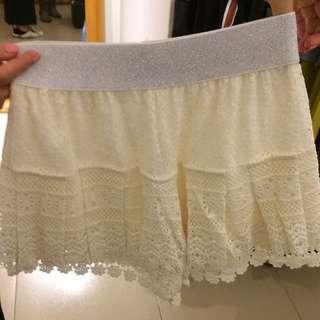 正韓蕾絲短褲