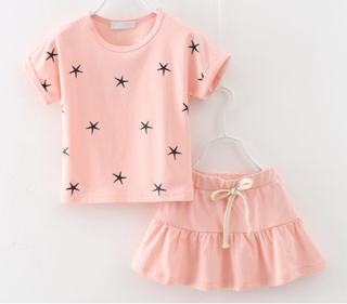 Girls leisure casual clothing set