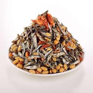海鹽土豆小魚乾