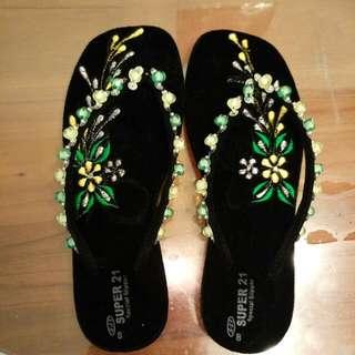 緬甸手工涼鞋(女)