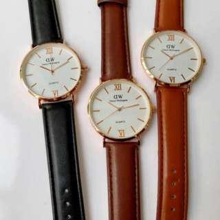 WD Kulit Wristwatch