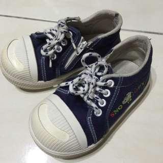男童史努比拉鍊鞋