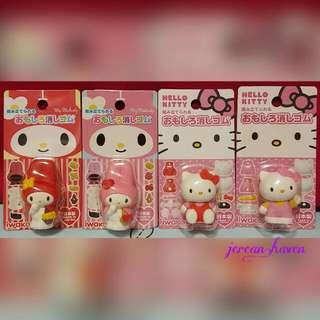 Hello Kitty / My Melody Figurine