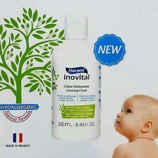 法國進口inovital嬰兒潔膚修護乳 #sellala