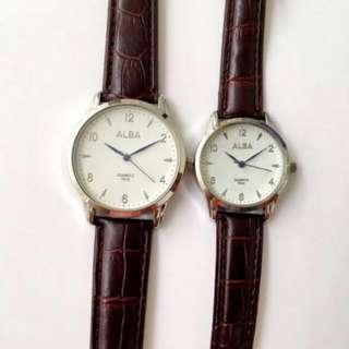 Alba Couple Arrow Wristwatch