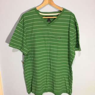 FREE Shipping TOMMY HILFIGER Green T-Shirt Tee