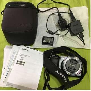 SONY a6000 Body + 16-50mm Power Zoom Lens