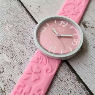 RXY Rubber Pink Wristwatch