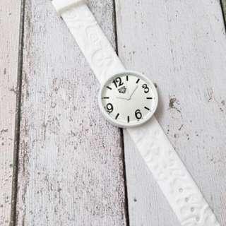 RXY Rubber White Wristwatch